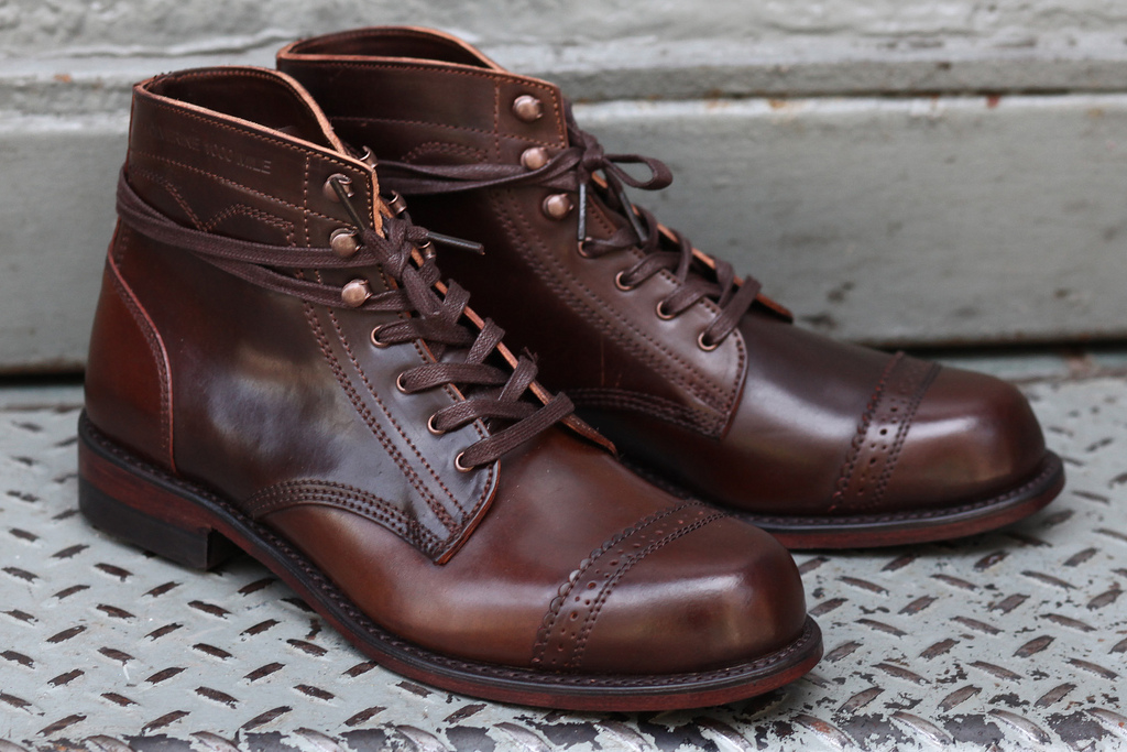 Wolverine 1000 Mile 744 Ltd Shell Cordovan Soletopia