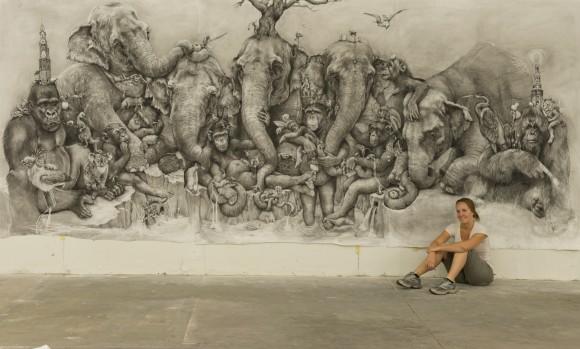 Adonna-Khare-animal-kingdom-288sqft-mural