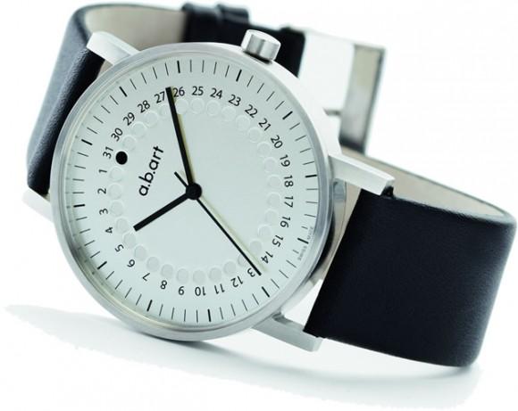a 0101 minimalist wristwatch by alexander burhans