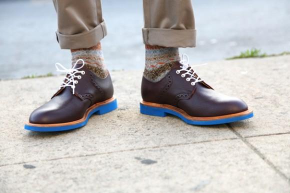 BLUE sole shoes for Men