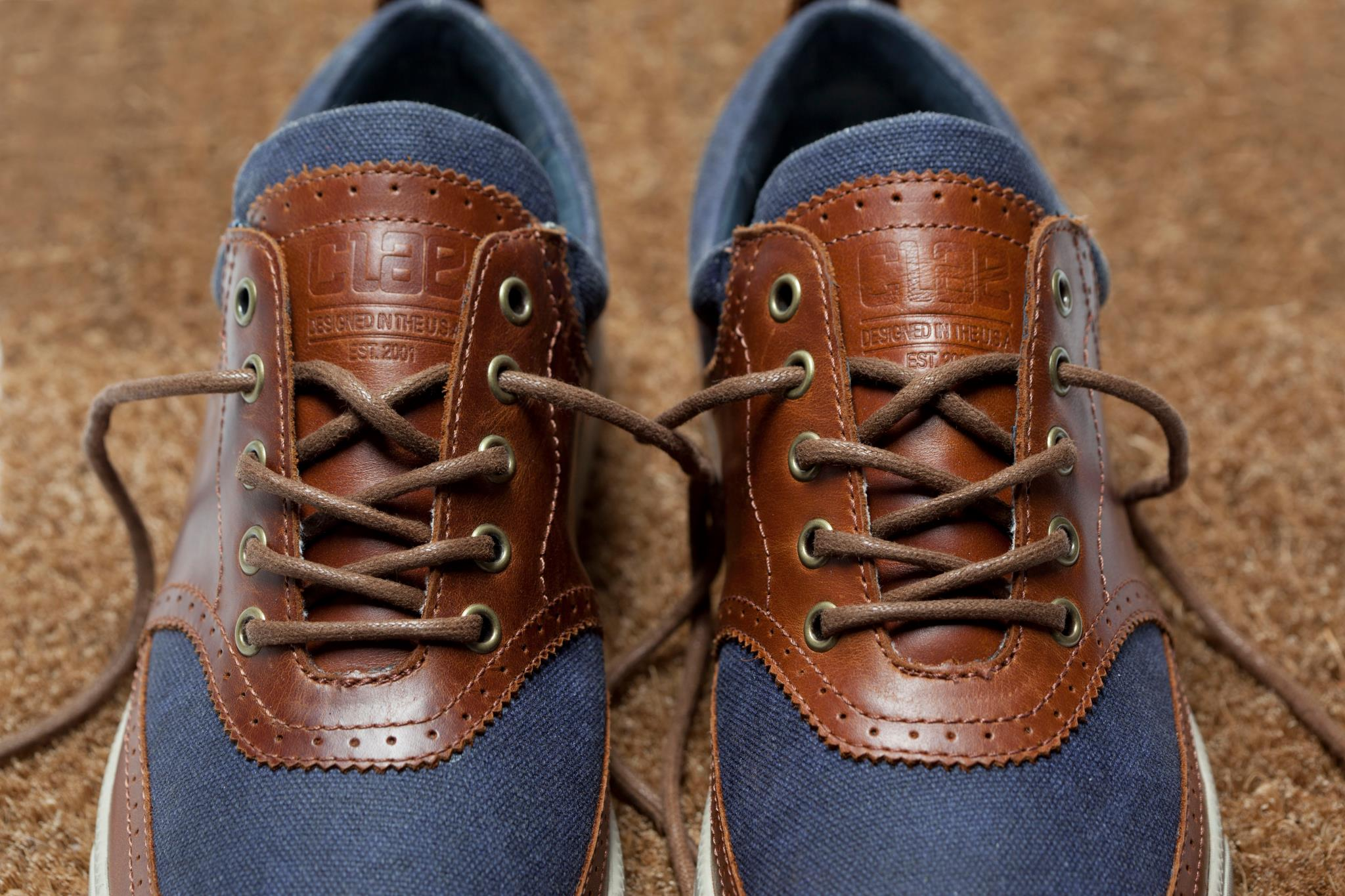 two toned clae sneakers soletopia