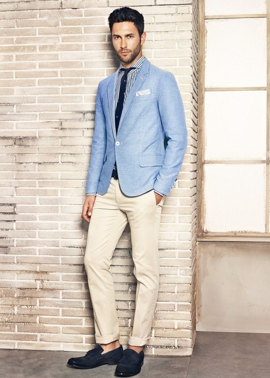 he-by-mango-lookbook-summer-blue-blazer-off-white-chino-loafers