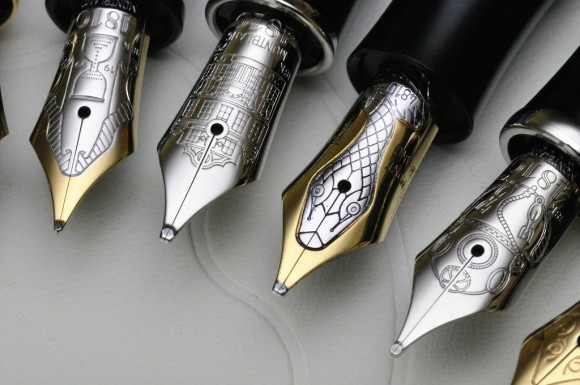 Beautiful fountain pens for the elegant calligrapher Elegant writer calligraphy pens