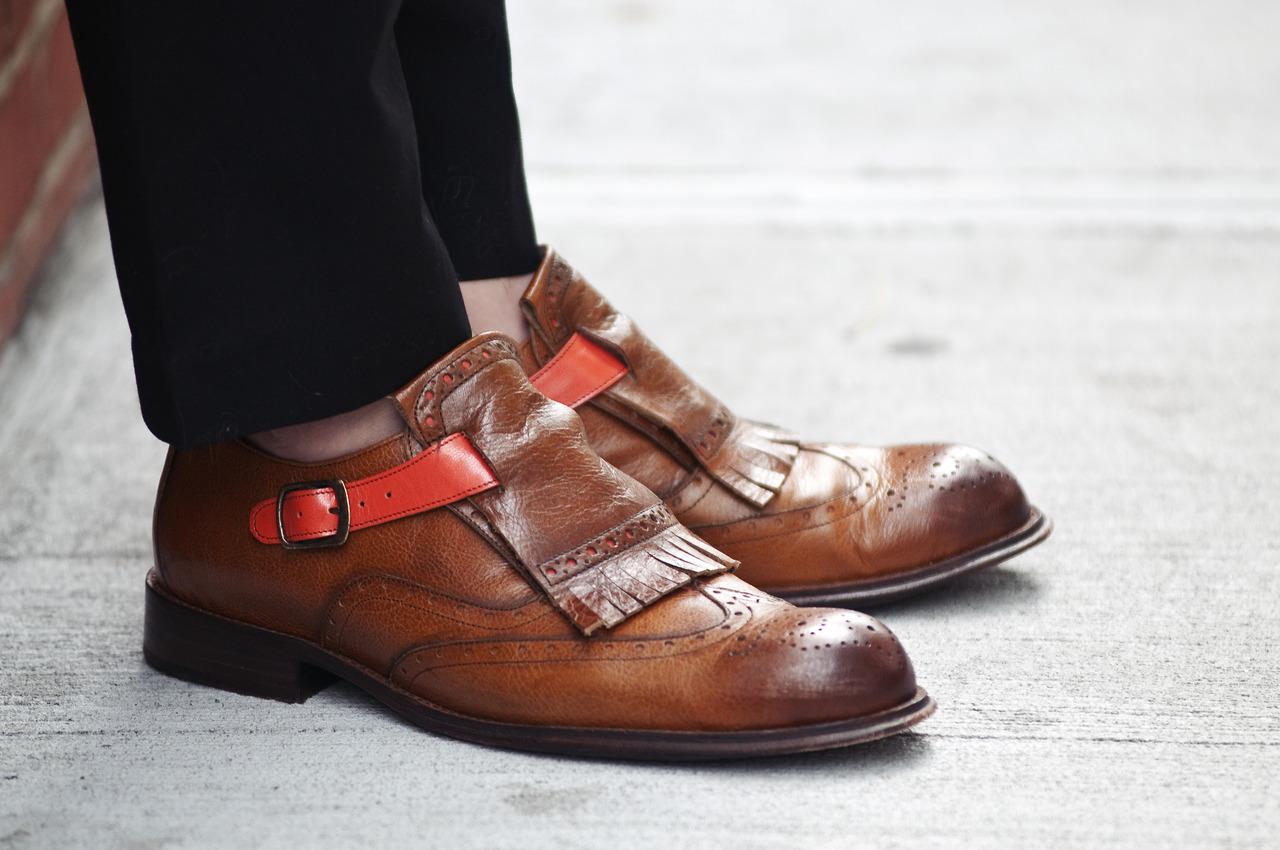 No Socks Tasseled Wingtip Monkstrap Soletopia