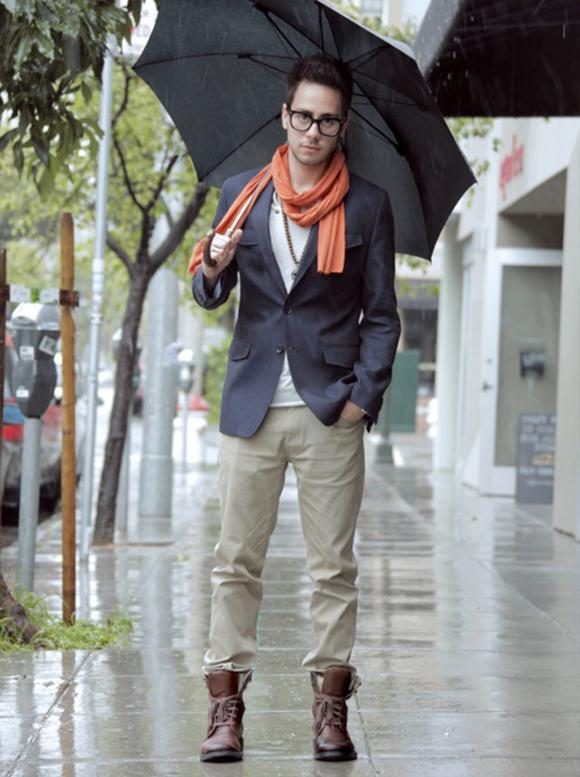 orange-scarf-navy-blazer-white-t-khakis-in-boots-nerd-glasses