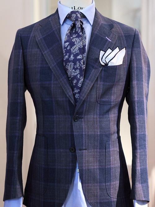 Paisley Silk Tie & Framed Silk Pocket Square