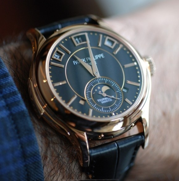 Patek Philippe Watch Pink Rose Gold Tourbillon Soletopia