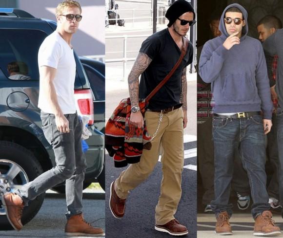 Ryan Gosling, Beckham, Drake Red Wing Boots | SOLETOPIA