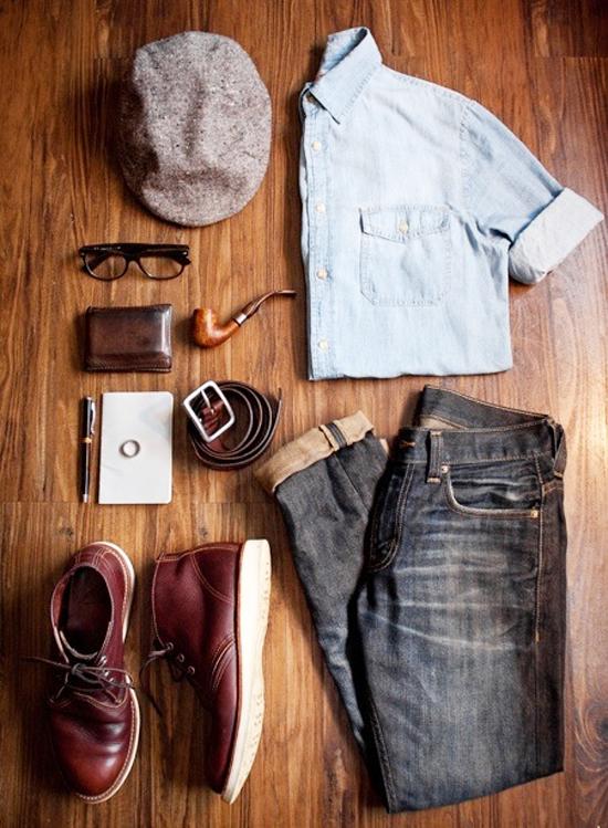 Spring Mash Up, menswear essentials for spring