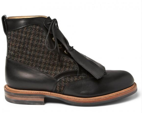 10c44f58c69985 tasseled-harris-tweed-lace-up-boot-fancy-looking-