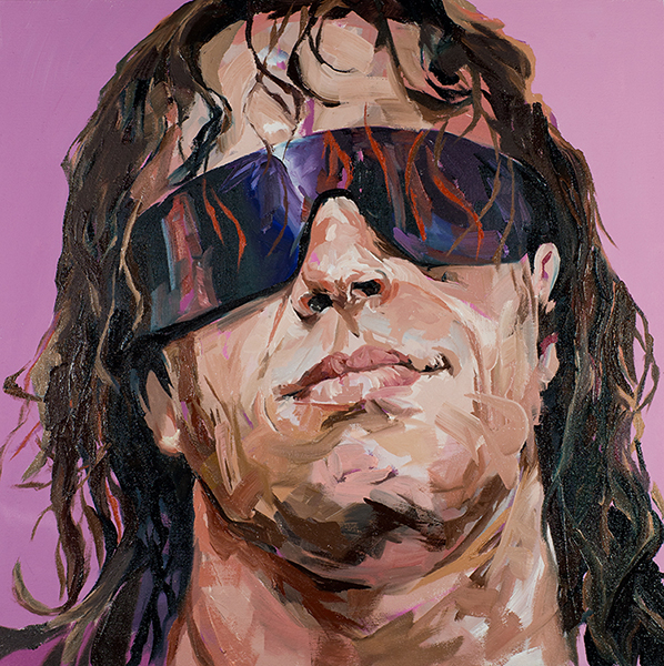 Oil Painting Sunglasses Awesome-oil-painting-of-bret