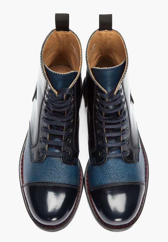 Mens Blue Boots
