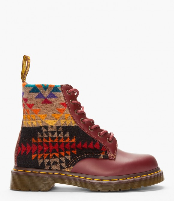christmas-time-2012-dr-martens-boots-pendleton-wool-burgundy