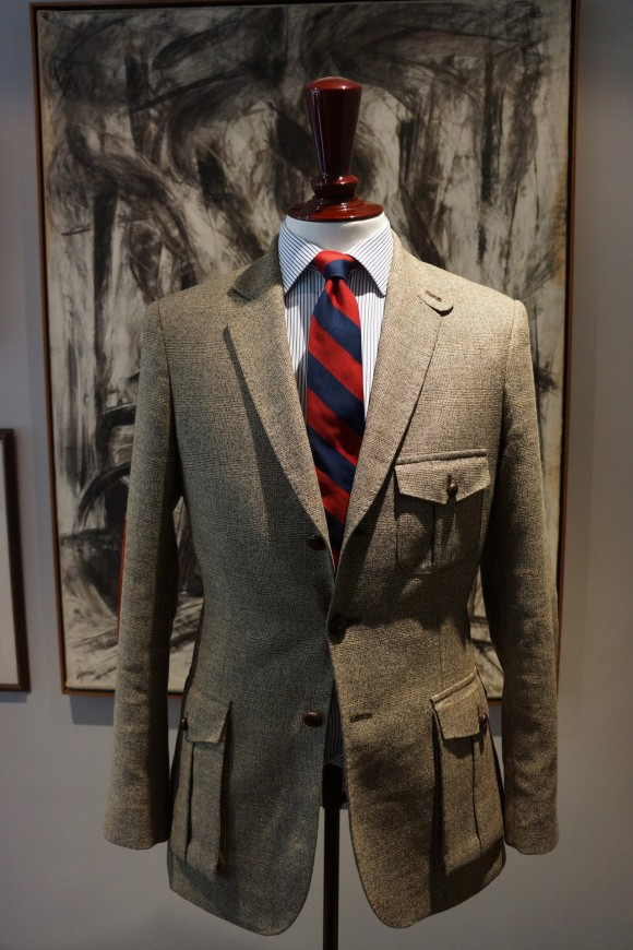 Classic Glen Plaid sport coat with chestnut buttons | SOLETOPIA