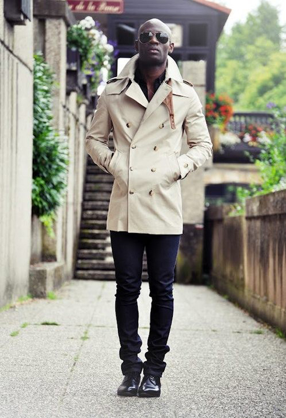 double breasted trench coat swag soletopia