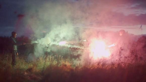 foals-inhaler-music-video-2012-shooting-fire-at-eachother