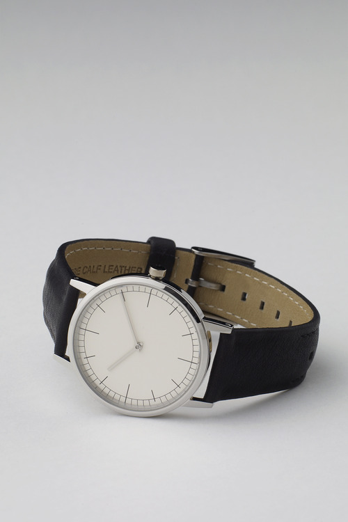 simple watch calf leather strap soletopia mens simple watch calf leather strap