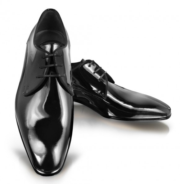 Moreschi Salzburg Sleek Patent Leather Derby Shoes