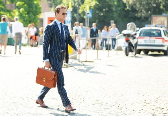 Florence pinstripe suit, menswear