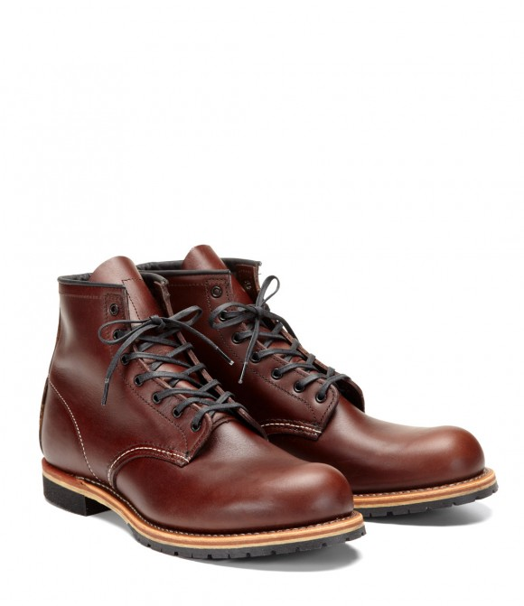 Red Wing Herritage Beckman in cigar brown, amazing boots
