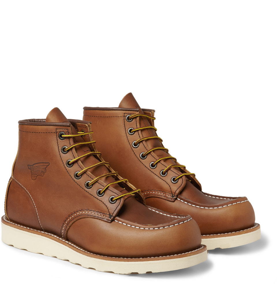 Red Wing Work Boots with Contrast Soles | SOLETOPIA