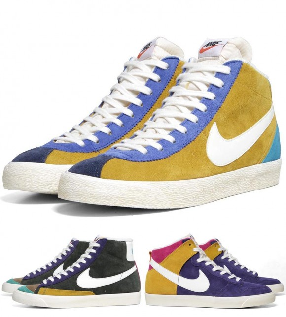 vintage Nike sneakers from the 'VNTG Multicolor Pack'