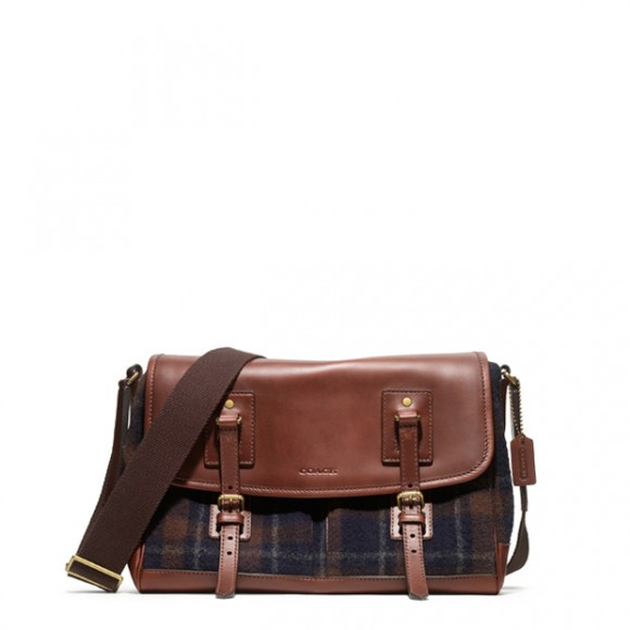 wool-plaid-leather-mix-messanger-bag