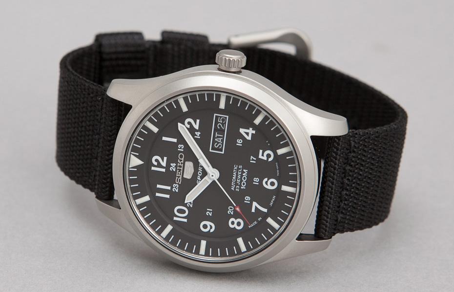 Seiko Military Watches In Black Cream Green Amp Navy