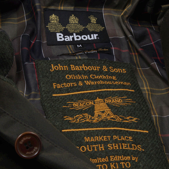Barbour Skyfall jacket