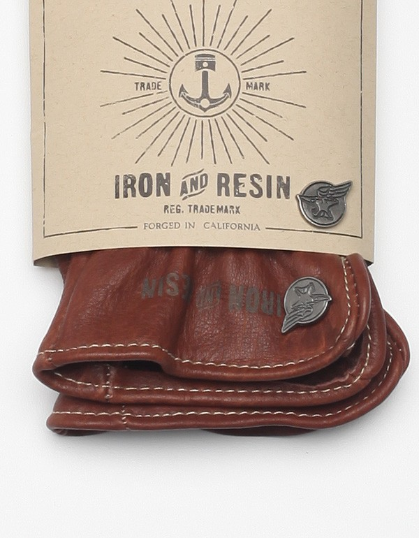 Iron and Resin Buffalo Bobber heavy duty Gloves