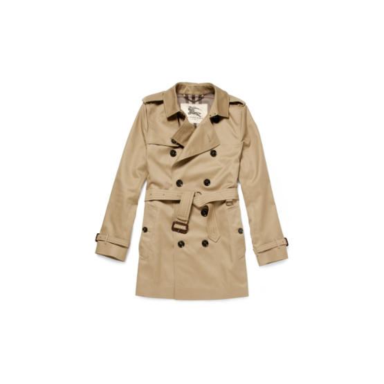 Burberry London double breasted trench coat, Britton Modern-Fit with adjustable belt