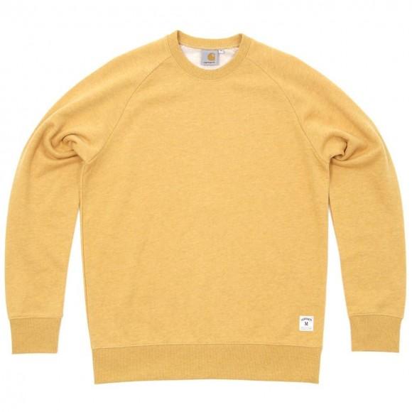 carhartt-mustard-yellow-sweater-holbrook-crewneck