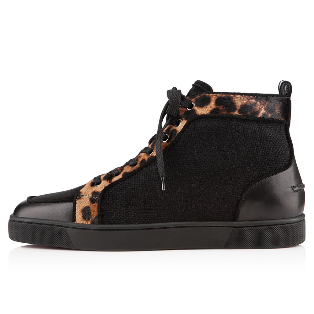 christian louboutin rantus orlato leopard pony sneakers. Black Bedroom Furniture Sets. Home Design Ideas