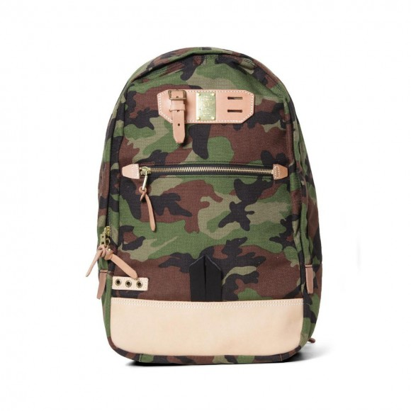 Camo print backpack from Master-Piece