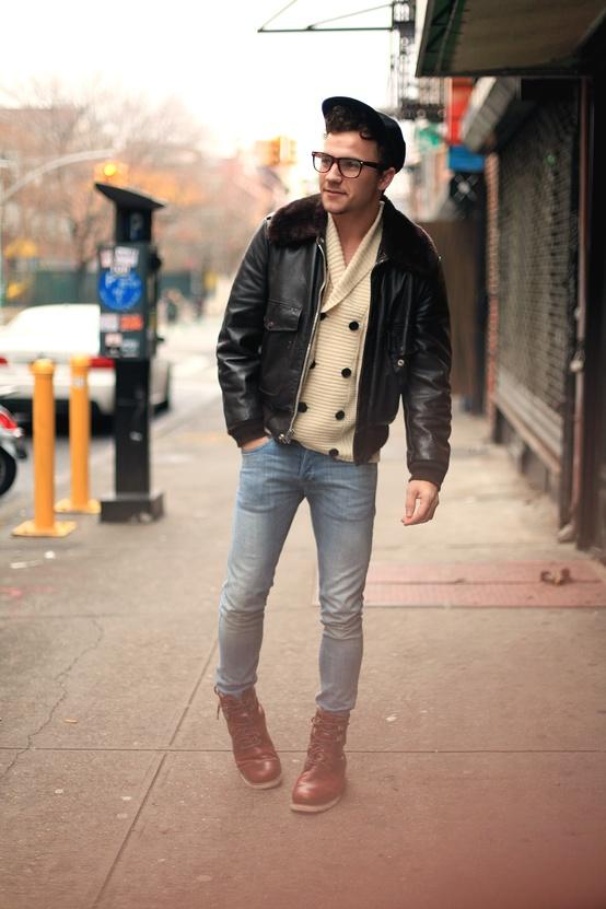 Hipster Leather Jacket - Cairoamani.com