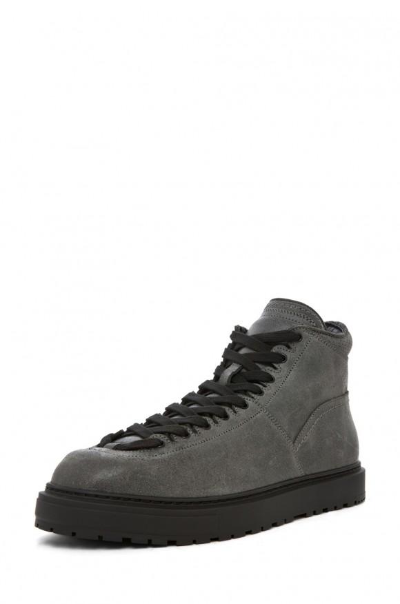Kris Van Assche Mid Grey Sneakers, label worn by Usher and Diddy