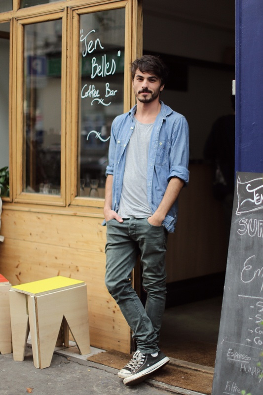Laid Back Menswear Grey Jeans Amp Chucks Soletopia
