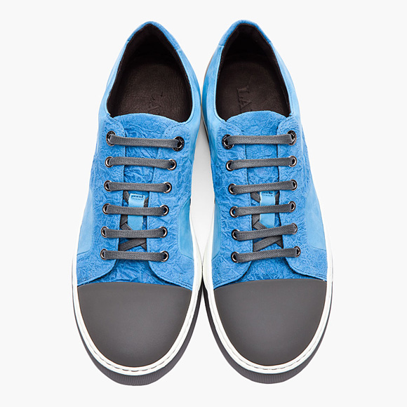 LANVIN low-top puzzle sneakers