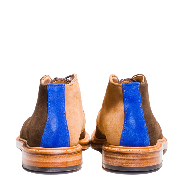 Mark McNairy two face mix suede chukka boot