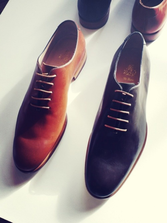 Mr. Hare Wholecut Oxford Shoes
