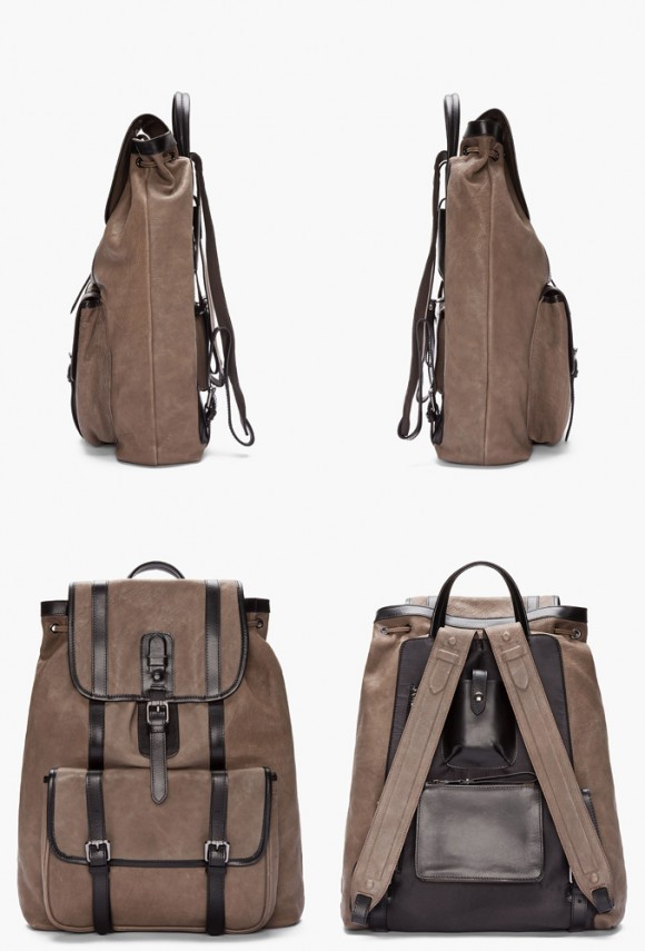 neil-barrett-taupe-leather-brasilia-backpack-luxury-gear