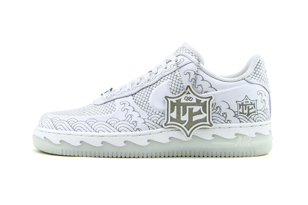 Nike Air Force 1 x Zhijun Wang Snake 'Year of the Snake'