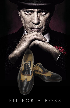 Nucky Thompson Shoes from Boardwalk Empire