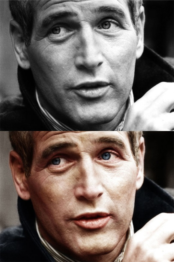 paul-newman-black-and-white-to-color