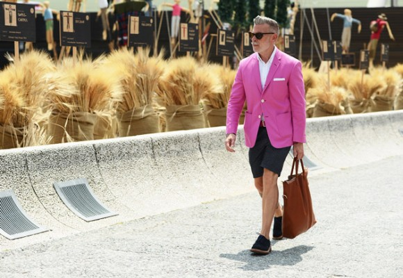 Pink Suit Menswear