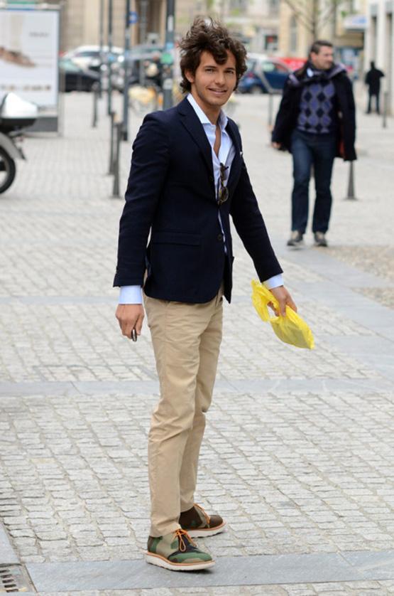 Hipster Menswear Mens Chin