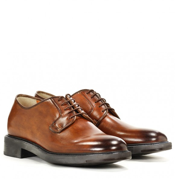 santoni-burnished-toe-cap-rubber-sole-derby-polished-shoes