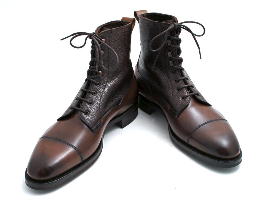 Versatile English Country Boot Edward Green Galway Cap
