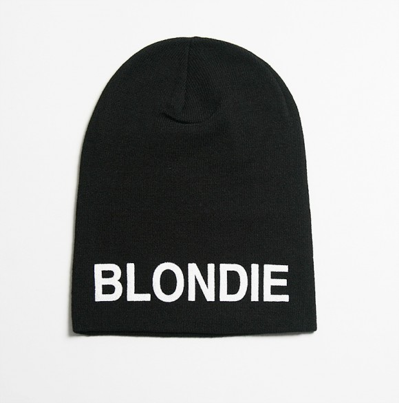 The Stray Boys Alex Blondie winter hat for picking up blonde babes