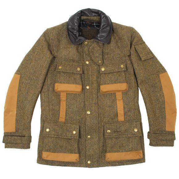 Barbour x Tokihito Yoshida Scott Jacket herringbone wool